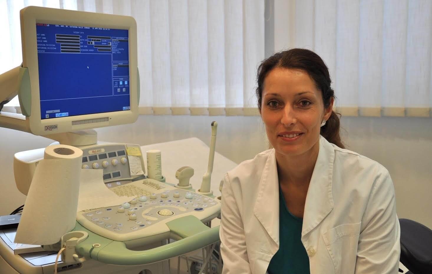 Katarina Galič Jerman, dr. med., specialistka ginekologije in porodništva